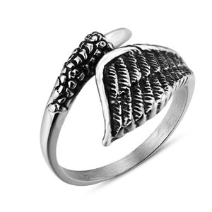 Cluster Rings Adjustable Stainless Steel Octopus Shape For Men Women Vintage Gold SIlver Color Punk Rock Unisex Jewelry