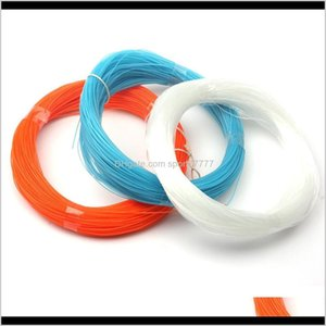 Lines Sports & Outdoors Drop Delivery 2021 100M Nylon 0Dot8 1Dot0Mm Crystal Strong Sea Boat Cast Fishing Rope Fast Sinking Monofilament Fly L
