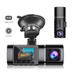 Full HD 1.5 Inch Front and Rear Car DVR Dual Lens Loop Recording G-sensor Mini Cameras Dash Camera Recorder H190+