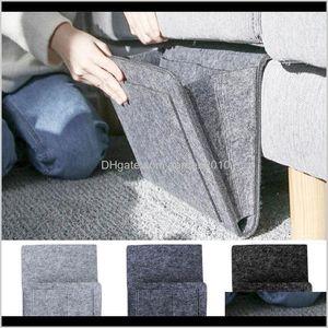 Boxes & Bins Bed Bag Pocket Felt Bedside Hanging Storage Organizer Dorm Room Book Magazine Tv Remote Caddy Bunk Holder For Table Sofa Jzcls