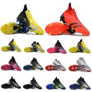 المفترس هراء + نيزك فائقة الأحذية FG Soccer X رجالي المربط Wolverines Showpiece الفضة المعدنية غير المعدنية TF Superstalth Black SuperseSpece Shock Pink