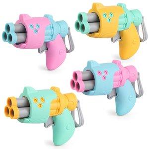 1pc Bambini morbidi pallottole Pistol Toy Kids Outdoor Divertimento Shooting Plasty Gun Regalo del ragazzo 4 colori casuale