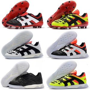 David New Predator Accelerator DB Electricity FG Beckham Becomes 1998 98 Men soccer shoes cleats football boots Size 39-46