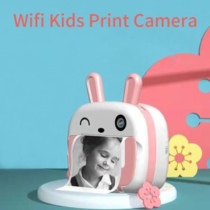 Digital Cameras Children Camera For Kids Instant Printing 1080P Support Wifi Function Toys Girl Boy Gifts