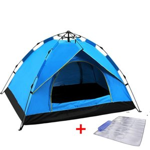 shade camping 2-3-4 people thick rainproof automatic tent spring type quick opening sunscreen Outdoor rest SEA WAY FWF6714