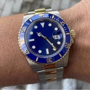 mens automatic mechanical ceramics watches full stainless steel clasp Swim wristwatches sapphire luminous watch montre de luxe