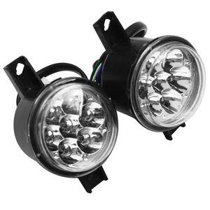 3 tel far kafa ışık ATV Quad 110 125cc Taotao ATA110D ATA110D1 ATA125D ATA135D ATA125D ATA135D ATA125 HW Araba Farları