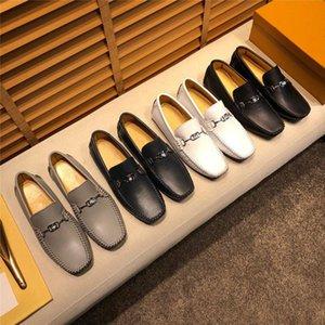 Q1 Бренд 2021 Новые Роскошные Натуральные Кожаные Квартиры Итальянские Мужские Мокасины Мужская Обувь Повседневная Мода Slip на Управляемый Дизайнер 11
