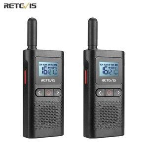 Walkie Talkie Retevis Walkie-talkies 2 Pcs RB628 Mini PMR446 FRS VOX PTwo Way Radio Ht For El Cafe Restaurant Outdoor Camp