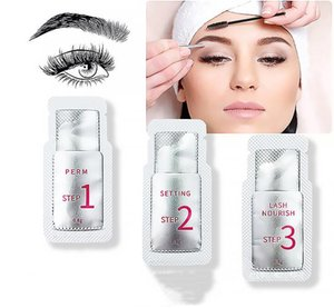 Lash Lift Eyelash Perm Kit Lashes Curler Nutrition Lotion Quick Fixing 5 Minutes Stereotype Hygiene Convenience Use