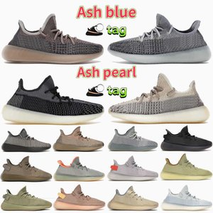 2021 Ash Stone Blue Pearl V2 Mens Running Shoes Fade Carbon Earth Sand Sulfur Taupe Marsh Linen Cinder Reflective Men Women Sneakers