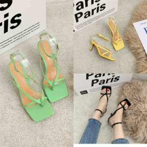 EnHx2 SDTRFT Summer sexy Stiletto women Party thin Sandals sandal High Mujer Heels Crossdress Shoes woman luxurious Ankle pumps SM strap