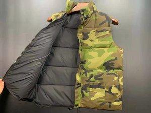 2021 Newest Mens freestyle feather down Winter Fashion vest body warmer Advanced men women vests jacket