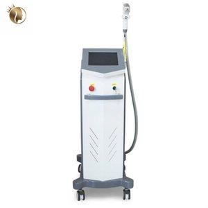 808 NM Épilation au laser Machines de traitement Diode Diode Laser 808 Soprano Système d'épilation de la peau foncée SPA
