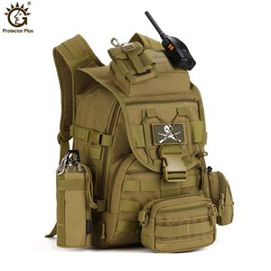 40L Tactical Backpack Military Backpack 900D Nylon Waterproof Army Rucksack Outdoor Sports Camping Hiking Fishing Hunting Bag Y200920