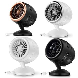 Wired Double-bladed Portable USB Fan Gadgets Home Office Camp Desktop Stand Air Circulation Turbofan Hawkeye 2 Gear Wind Blowing Electric Fans