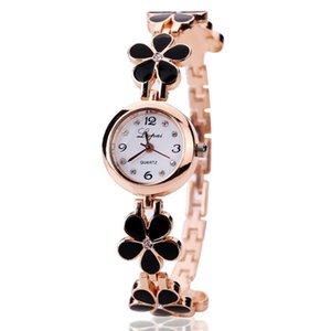 ساعات المعصم النساء الساعات 2021 الفاخرة النجوم السماء الماس روز الذهب السيدات كوارتز الفولاذ المقاوم للصدأ المعصم الساعات الأزياء سوار ساعة