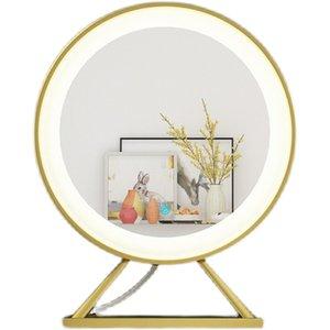 Bedroom Furniture Dresser LED intelligent with light make-up mirror desktop network red beauty large HD daylight home bedrooms female