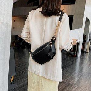 Большая емкость женская талия сумка дизайнер роскошный ремень сумки на плечо Корзина грудь женский Fanny Pack сплошной цвет бедра