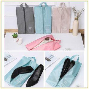 Portable Waterproof Shoe Storage Bag Pouch Convenient Storage Travel Wash Bag Tote Toiletries Laundry Shoe