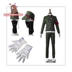New Danganronpa V3 Shinguuji Korekiyo Cosplay Carnaval Costume Halloween Christmas Costume Y0903