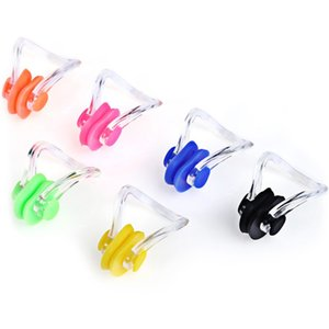 1pair Soft Waterproof Swimming Earplugs Nose Clip Case Protective Prevent Water Protection Ear Plug Soft Swim Dive Supplies 921 Z2