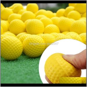 12Pcsset Plastic Whiffle Airflow Hollowsolid Golf Training Balls Outdoor Indoor Putting Target Swing Game Accessories Aids Rq7Lf Txdji