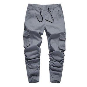 Volgens Calças Calças Elastic Jogger Masculino Casual Sweatpants Slim Streetwear Mens Harem Homens Hop Hip Ngpnt