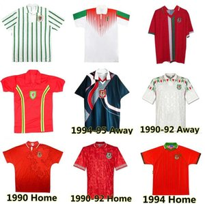 Уэльс 98 90 92 93 94 95 96 Ретро Футбол Джерси Хиггс Hughes Saunders Rush Speed Reping Classic Foottonge