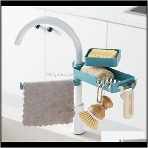 Accessory Set Organizer Shees Bath Shower Soap Shelf Plastic Blue Bathroom Faucet Accessories Kitchen Storage Holder Sea Ship Ewb4959 Smltz