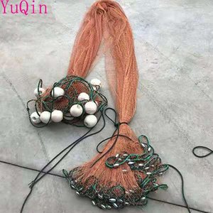 Aquariums Wholesale Brown Tire Line, Drawnet, Trawl ,Fishing Nets,River Blocking Network With Floats And Pendants