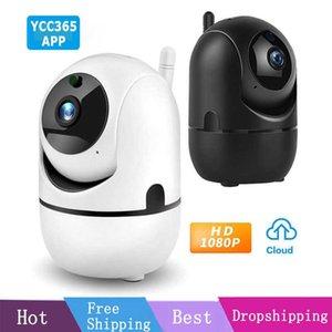 Original ycc365 1080P Cloud HD IP Camera WiFi Auto Tracking Camera Baby Monitor Night Vision Security Home Surveillance Camera H0901