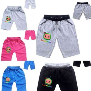 Summer Kids Shorts Pants For Boys and Girls CocoMelon Little Boy Cotton Shorts Children's Cartoon Printed Fashion Casual Sport Pants G49HPEN