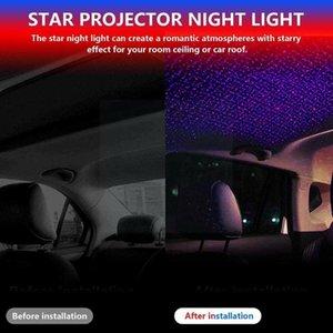 Interior&External Lights USB Car Roof Star Light Universal Disco Stage Sky Projector Night Christmas Decorative Interior Lamp For Wedding Ye
