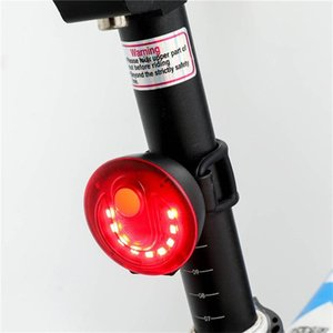 Outdoor Night Riding Equipment Bicycle LED USB Rechargeable Anti Air Parts Taillights #2L08 Bike Lights