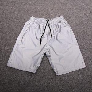 الصيف الهيب هوب عارضة الشارع الشهير شخصية الذكور السراويل عالية الجودة العاكس أزياء الركض أوم