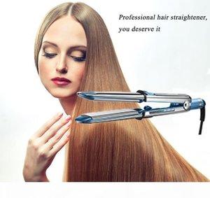 Hot Flat Iron Ionic Hair Straightener Na-no Titanium Prima3000 Ionic Straightener