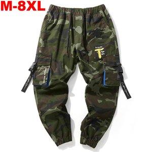 Камуфляжные грузовые брюки плюс размер 8xL Joggers Men Brussies Hip Hop Army Camo Cample Chotts ConfantPants мужские большие карманы Ankel