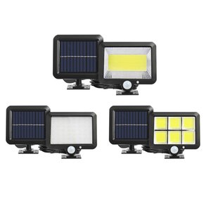 Solar Lamps, Outdoor Motion Sensor Light 56 LEDs Securtiy Night Light Separable Solar Panel Light for Patio Yard Deck Garage Driveway Porch Fence In Stock