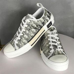 Low Air Dìòr B23 Oblique Luxurys High Top Sneakers Shawn Baskets KAWS Kim Jones Hommes Chaussures Men Women Casual Shoes 418