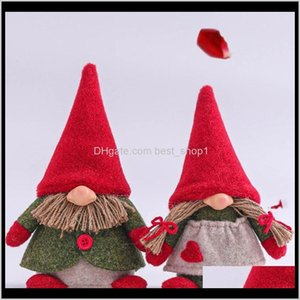 Aessories Toys & Gifts Drop Delivery 2021 Happy Mothers Day Gnome Plush Dolls With Heart Love Mom Toy Doll Birthday Festival Home Decor Gift