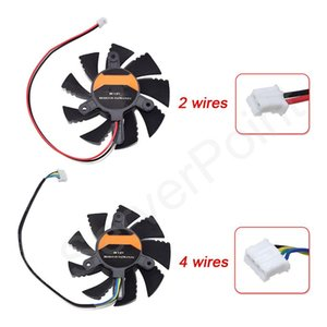 Fans & Coolings Well Tested DC12V 75mm Video Grahpics Card Fan 2 Wires 4 Wires VGA For Colorful GT440 450 460 GT630 GTX550TI 650Ti 560
