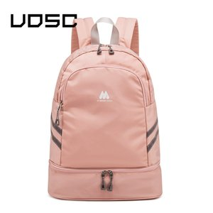 UOSC Big Capacity Backpack Portable Independent Shoes Clothes Storage Bag Woman Travel Organizer Pouch Fitness Sport Accessories LJ200901