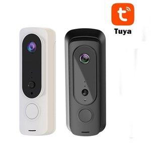 Doorbells T5 Tuya Smart 1080P WiFi Video Doorbell Camera Visual Intercom Waterproof Night Vision IP Door Bell Wireless Security Cameras