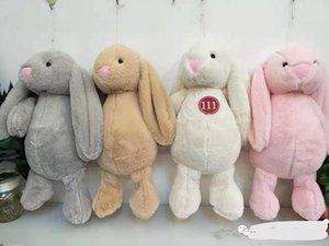 여러 가지 빛깔의 믿음 봉제 토끼 인형 큰 귀 장난감 웨딩 걸레 만화 어린이 생일 선물