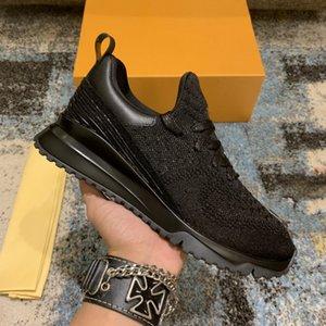 2021 luxurys designers sapatos de alta qualidade marca v.n.r mulheres esportes homens sneaker casual de malha macio sentimento me sock design luz