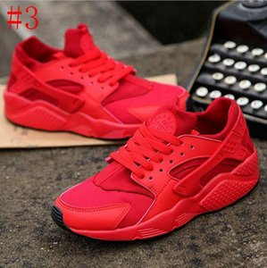 Vente nouvelle Huarache 1.0 4.0 hommes chaussures bon marché bande rouge balck blanc rose rose huaraches femmes formatrices deigneur respirant