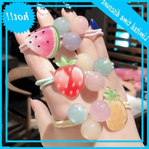 South Korea ins lovely fruit fresh watermelon Strawberry circle head rope pill scalp tendon female Hair accessories
