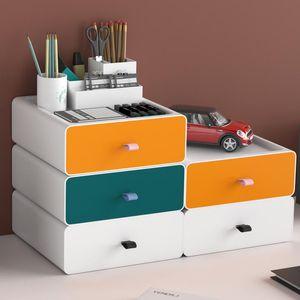 Large Capacity Makeup Drawer Organizer Holder Cosmetic Storage Box Desktop Sundries For Brush Boxes & Bins