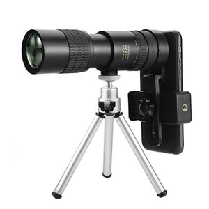 Telescope & Binoculars 10-300X Professional Portable Monocular BAK4-Prism Retractable Waterproof Phone Optics Scope